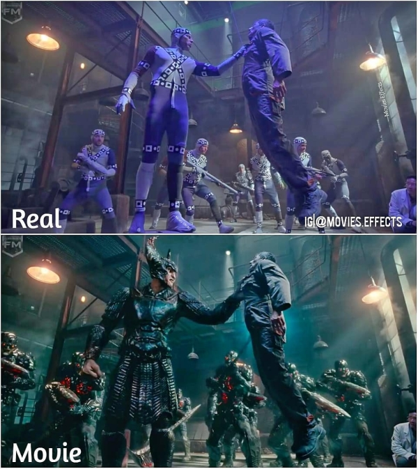 visual effects before and after shots show movie magic in the making 36 photos 4 Visual effects before and after shots show movie magic in the making (36 Photos)