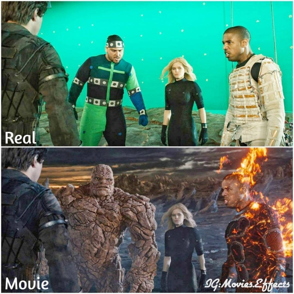 visual effects before and after shots show movie magic in the making 36 photos 6 Visual effects before and after shots show movie magic in the making (36 Photos)