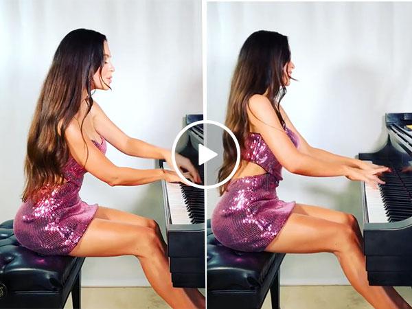 Beautiful pianist will turn your D-Flat into a D-Major ( Lola Astanova Video)