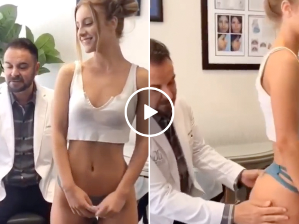 """As a fellow """"butt expert�, I too can confirm this but is in fact real (Model Daisy Keech Video)"""