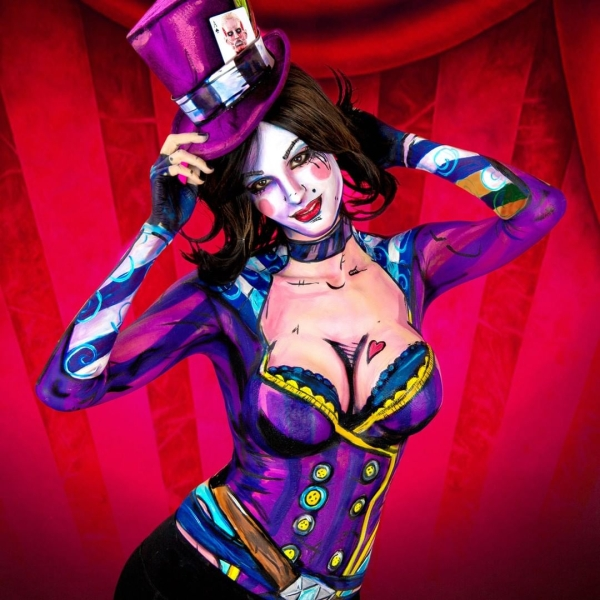 The incredible body paint art of Kay Pike (26 Photos and GIFs)