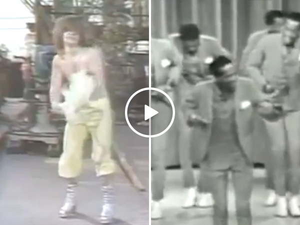 On today's show; The Temptations accompanied by Black Sabbath (Video)
