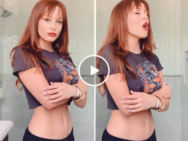 Sarah is gorgeous and has the pipes to match (Video)