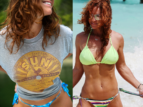 Hot-DAMmmmN…fit redhead's got a sexy body (61  Fit Girls Photos  )