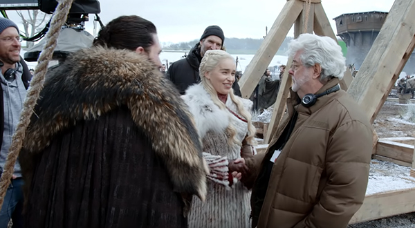xx photos 1 George Lucas visits Game of Thrones set for the Battle of Photoshop (17 Photos)