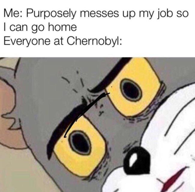 chernobyl cat meme