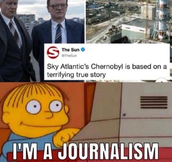 after the chernobyl disaster meme