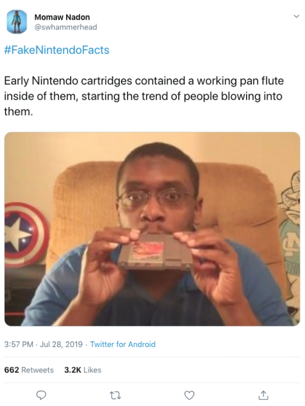 fake nintendo facts twitter12 If only these fake Nintendo facts were true (20 Photos and GIFs)