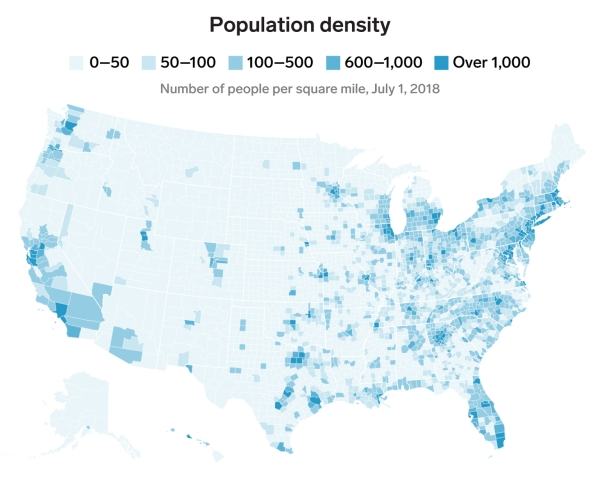 humanity maps america statistics0 Maps that reveal how America thinks, spends, & lives (28 Photos)