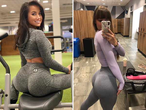 It's payday so here are some yoga pants. Here Are the Tightest Yoga Pants in the Land : (48 Photos)