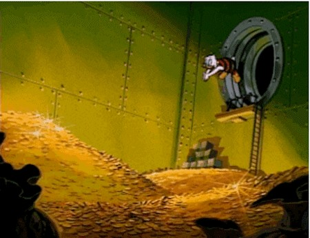 scroogemcduck 1 9 Bill Gates lives in poverty compared to the wealthiest people in history