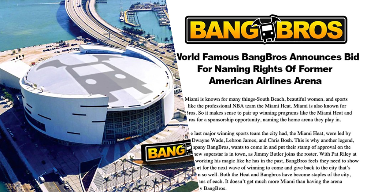 miami heat arena naming rights