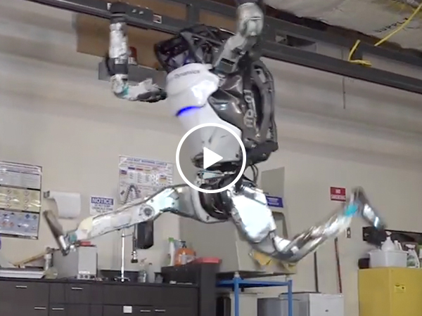 Boston Dynamics is training ninja robots, and we had a good run humanity (Video)