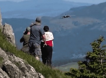 f 15 flyby mach loop vid 1 gif 06b close flip 2 awesome 55 A 10s to SR 71s, just some Awesome Air Force GIFs (24 GIFs)