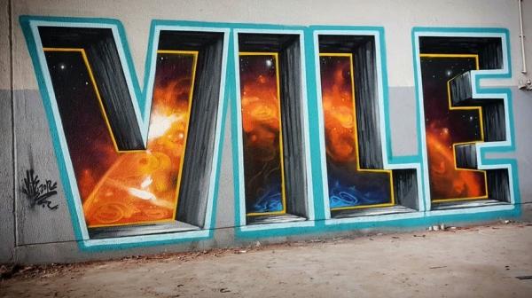transparent graffiti artist optical illusions24 Optical illusionist will make you do a double take (24 Photos)