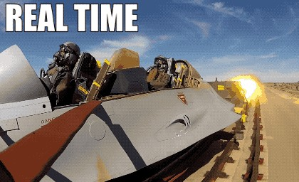 ejection seat test 2019 gif 01 real time text full 2 12 Eject, EJECT: evolution and science of Ejection Seats on supersonic fighter jets (14 GIFs)