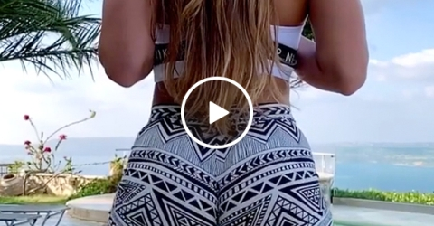 God bless slow-motion (Video)