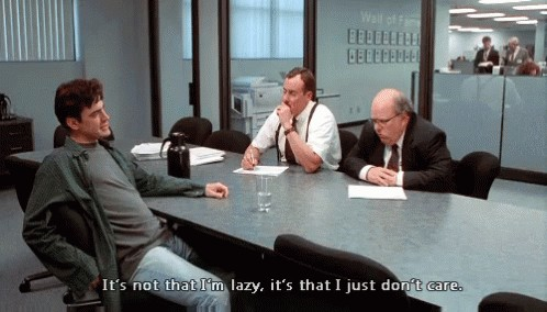 """interviewc1 2 Yes, a wet swimsuit is """"inappropriate"""" for a job interview (17 GIFs)"""