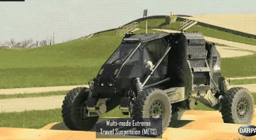 wheels change gif 25 suspenion side bumps 1 3 Circle to Triangle: Future Military tires can change shape at the push of a button (8 GIFs)