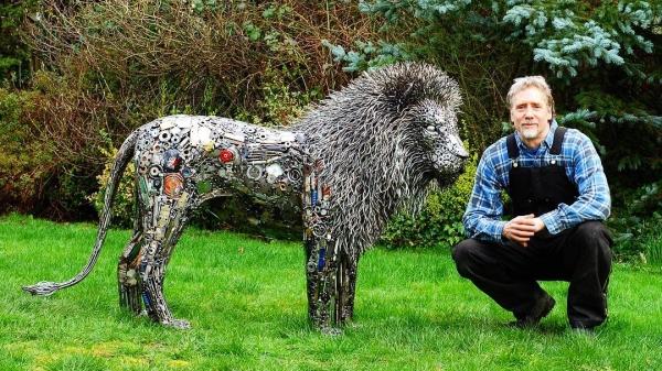 sculptor welder instagram brian mock artist 3 Welder transforms junk into incredible metal sculptures (32 Photos)