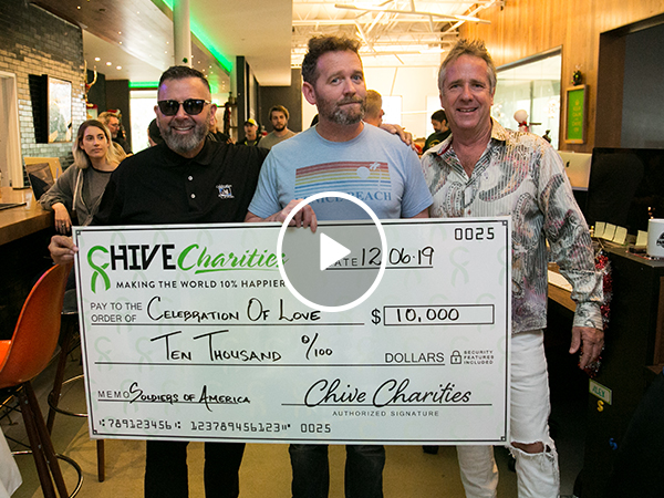 John's $10k Surprise for a Fort Hood Charity (Video)
