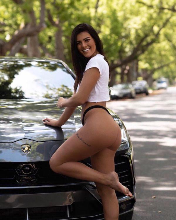 katyjoraelyn 60627755 847473408960275 6396758122099747790 n Hot girls and cars  a match made in heaven (31 Photos)