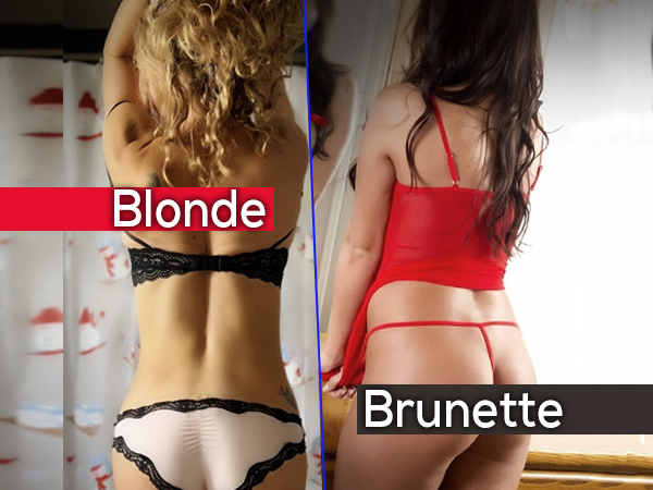 """Sexy Hot Girls Blonde and  Brunette Brown Hair Photos. Sexy 2 tease call-out, """"Give us MOREEEE"""" (42 Photos)"""