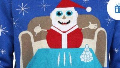 Walmart Apologizes For X Mas Sweater That Shows Santa Doing Cocaine