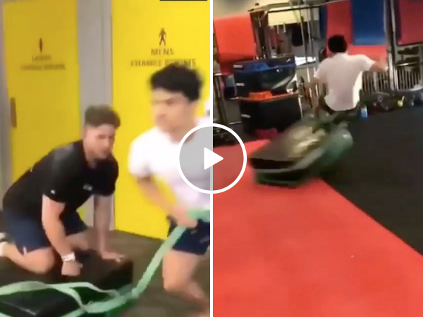 A workout sled's supposed to make you stronger, not broken (Video)