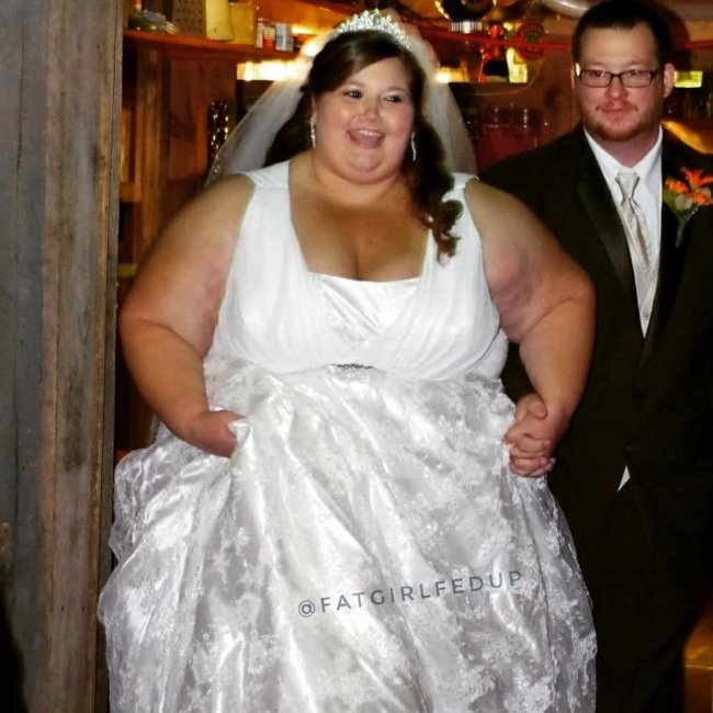 400 pound bride enlists husband to take on weight loss together (23 Photos)