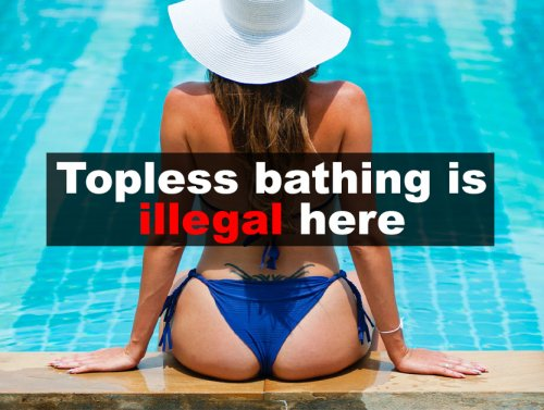 Ridiculous laws that actually exist around the world (16 Photos)