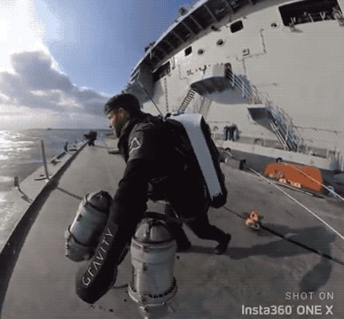 """navy is testing a real life ironman suitfck yeah 8 10 Navy is testing a real life """"Ironman"""" suit…F*CK Yeah (8 GIFs)"""