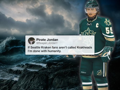 People have mixed reactions to Seattle's new NHL team name… the Kraken (20 Photos) 1