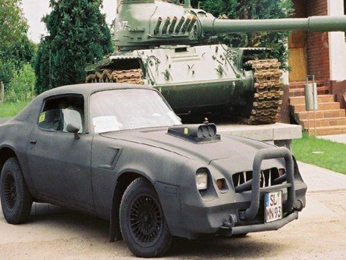 "Real-life ""Mad Max"" runs humanitarian aid through War-Zone…in an armored F-body Camaro (6 HQ Photos)"