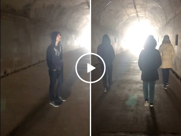 An abandoned military bunker is perfect for this beautiful song (Video)