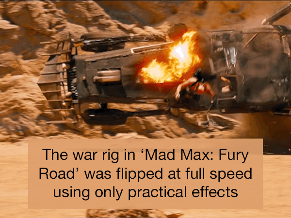 Bad*ss facts about the most insane action movie stunts (18 Photos)