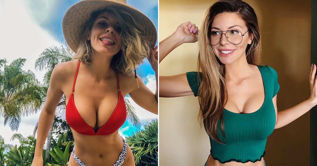 Ashley has more curves than a Formula One track (33 Photos)
