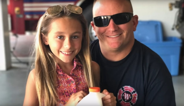 man adopts wifes daughter beautiful proposal0 Dad surprises his wifes daughter with adoption proposal and its everything