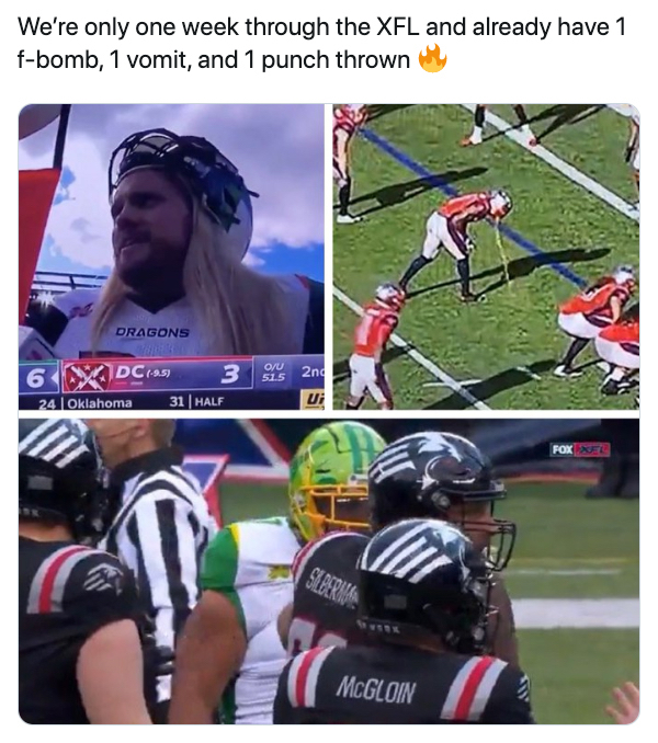 xx photos 1 XFL opening weekend did not disappoint... and neither do the memes (35 Photos)