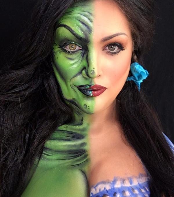 badss makeup artist completely transforms her face into masterpieces xx photos 10 Bad*ss makeup artist natzbuzz transforms her face into masterpieces (30 Photos)