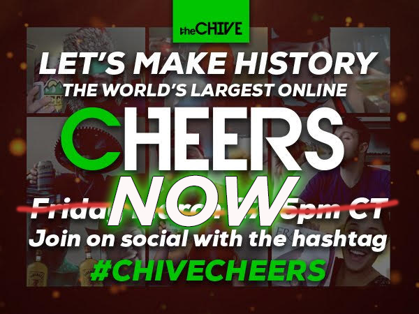 operation chivecheers commence 1 Operation #ChiveCheers, Commence!!!