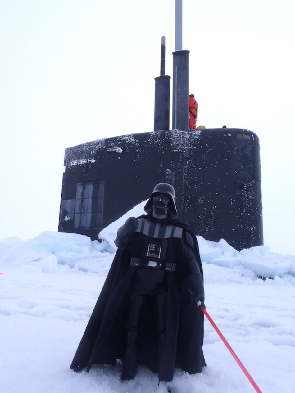 z3 user sub North Pole 960 8 Darth Vaders nuclear submarine crew is partying at the North Pole (36 HQ Photos)