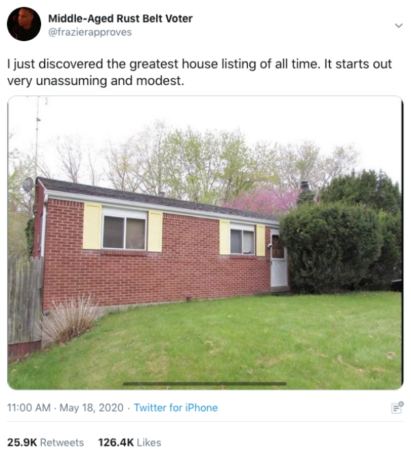 Modest House Weird Inside Zillow Twitter9 Don't let the normal exterior of this house fool you, the inside is bats*** (14 Photos)
