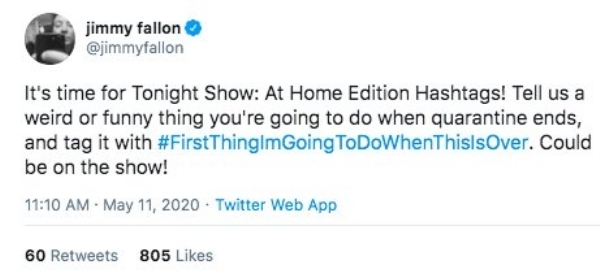 Post Quarantine Plans Jimmy Fallon Tweets3 People share their funniest post quarantine plans, and we can all dream still, right? (28 Photos and GIFs)