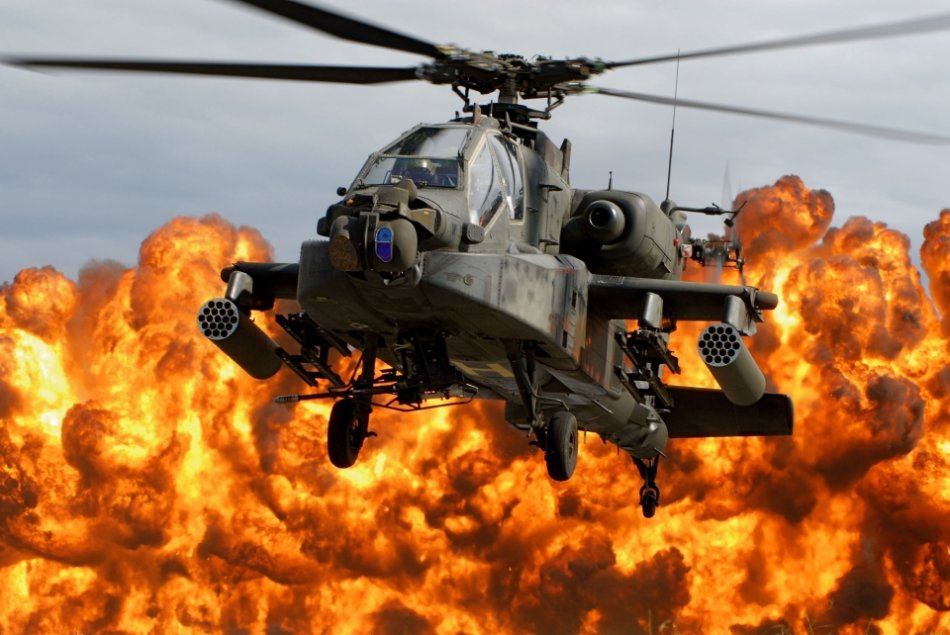 high res perfectly timed ah 64 apache firepower 25 High Res: Perfectly timed AH 64 Apache FIREPOWER (64 HQ Photos)
