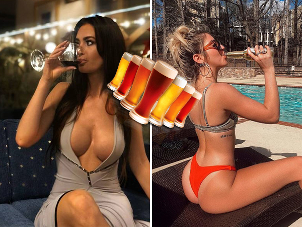 +Drunk girls from my home office… CHEERS to the weekend!!! (52 Photos)