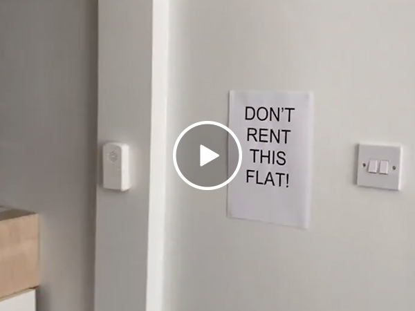 Tenant posts scathing video of apartment after being forced out (Video)