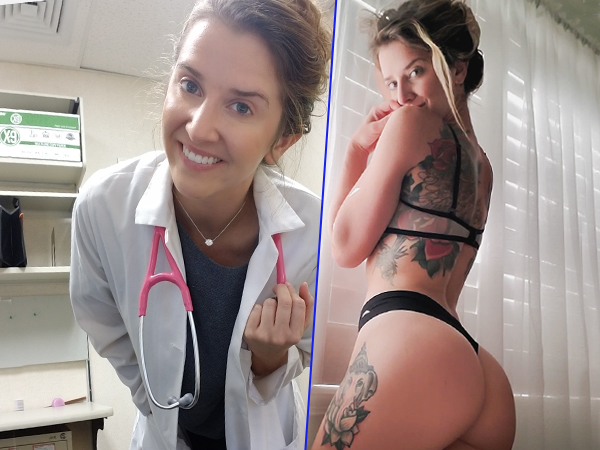 Nurse Sexy Tattoos Hot Girl Photos Yoga Lingerie Beautiful (27 Photos)
