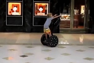 Hilarious Segway FAIL GIFs Humor 00009 11 The original Segway has died... Lets honor its passing with FAILs (16 GIFs)
