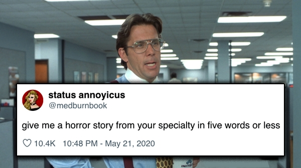 People On Twitter Share Horror Stories From Work In Five Words Or Less Humor Funny Pictures 10 Terrifying horror stories from work in 5 words or less (30 Photos)